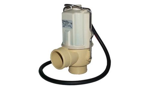 Дренажный клапан AuK Muller DN40, 220V, NC, патрубок / патрубок, кабель 1,5м