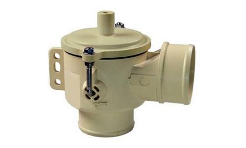 Дренажный клапан AuK Muller DN40, NC, патрубок / патрубок