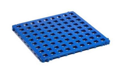 Напольное покрытие синее